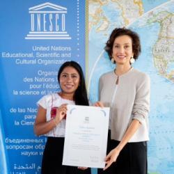 L'actrice mexicaine Yalitza Aparicio nommée ambassadrice auprès de l'UNESCO !