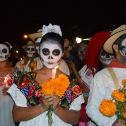 "Au Mexique on célèbre ""la fiesta de los muertos"" chaque 1er novembre !"