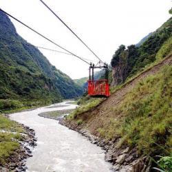 Equateur : A la découverte d'un mode de transports original, la Tarabita